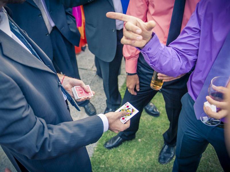 mago para bodas El Mundo de Elmer